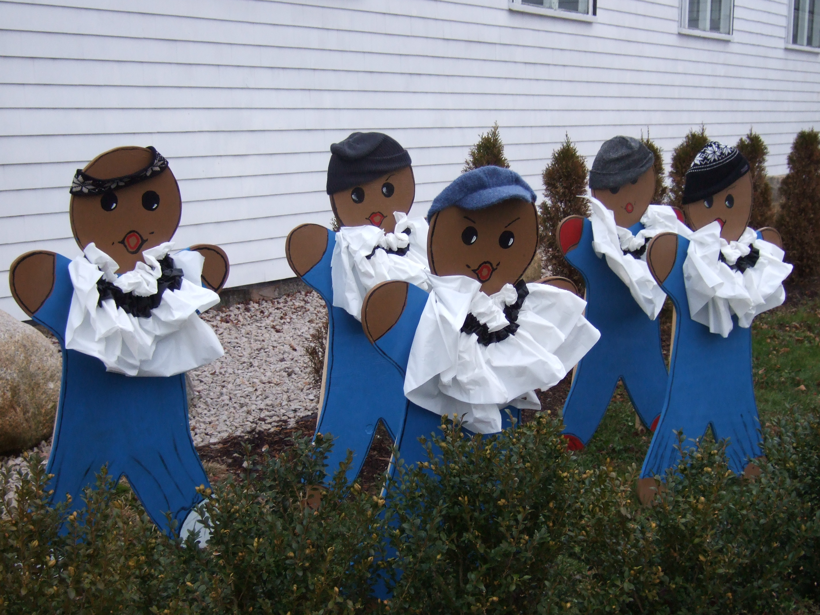 gingeerbread festival choir