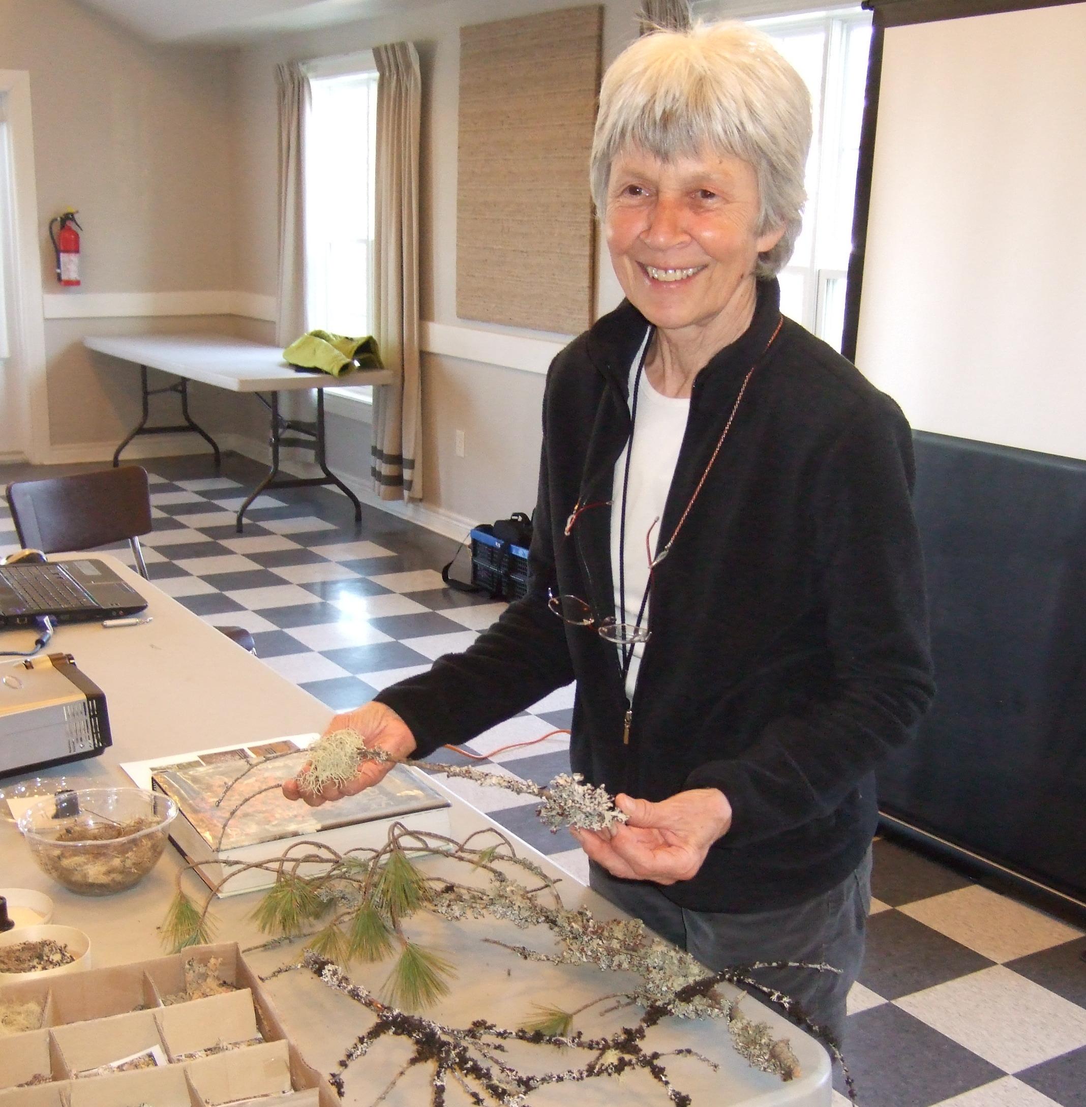 Frances Anderson, lichenologist