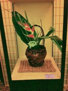 Ikebana as in Ohara School