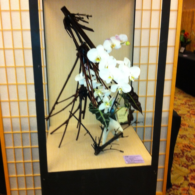 Ikebana arrangment