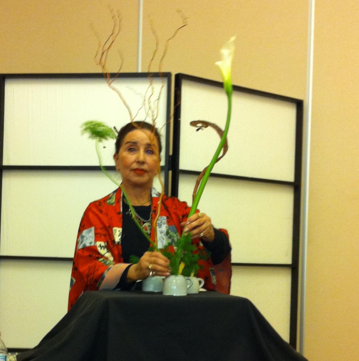 An Ikebana Workshop Chester Garden Club