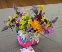 "A freely-constructed arrangement in the ""Basket of Dreams"" class."