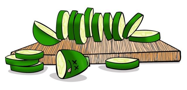 zucchini clip art