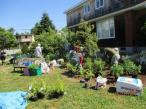 June 27th Cove Garden Planting the Haase Garden