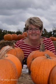 Jayne in the pumpkin patch