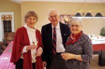 Joan, Ted and Jocelyn