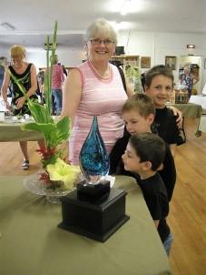 Jocelyn and her grandsons